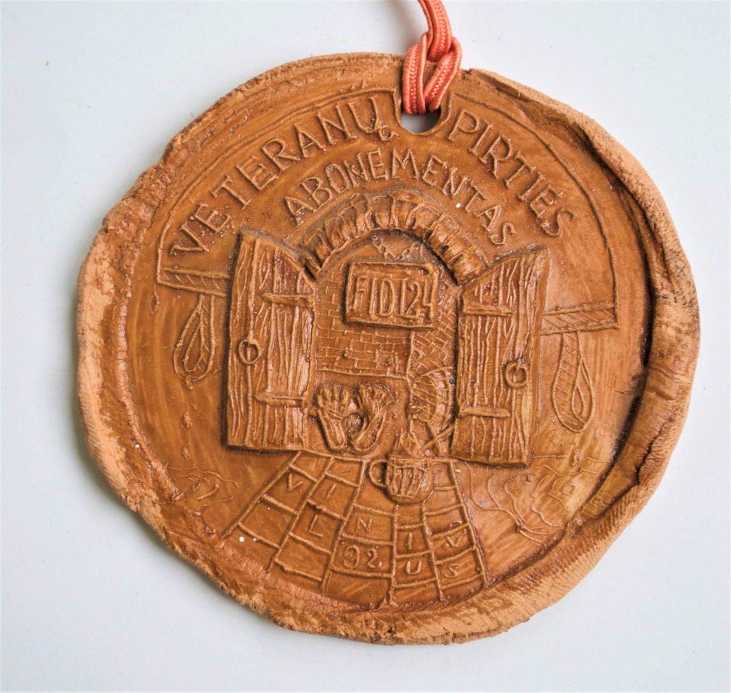 FiDi#24 Medalis Veteranų pirčiai